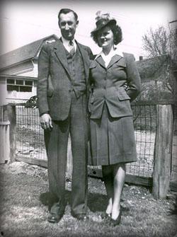 40s wartime look