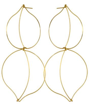 Plum Petal By Boe earrings