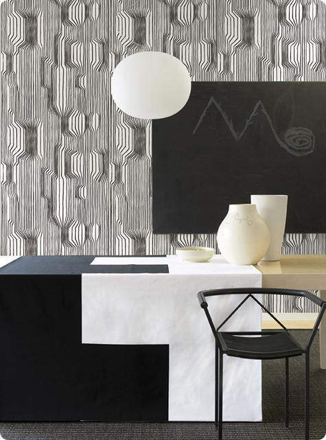 marimekko wallcoverings: aarni
