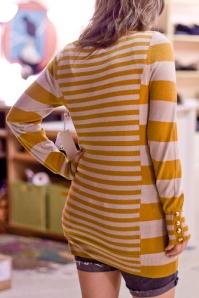 Shae Mustard Stripe