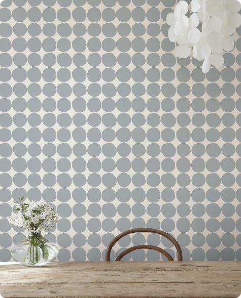 marimekko wallcovering: pienet-kivet