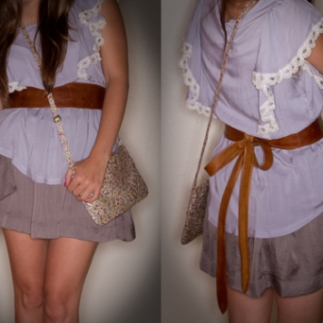 brown ada belt