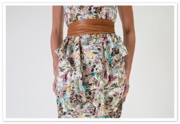 brown ADA wrap belt
