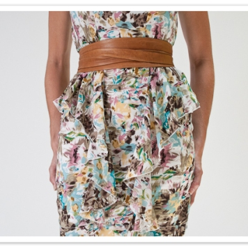 brown ADA wrap belt