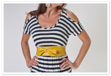 mustard ADA wrap belt