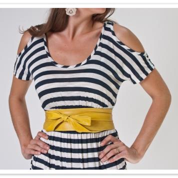 mustard ADA wrap belt