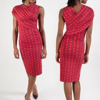 A hot dress for cold weather.