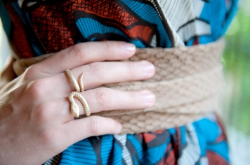 snake ring and python ADA belt