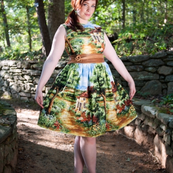 country cottage osterly dress by bernie dexter