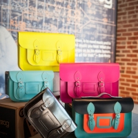 Now at Minx: Stella Rittwagen Satchels that Pop!