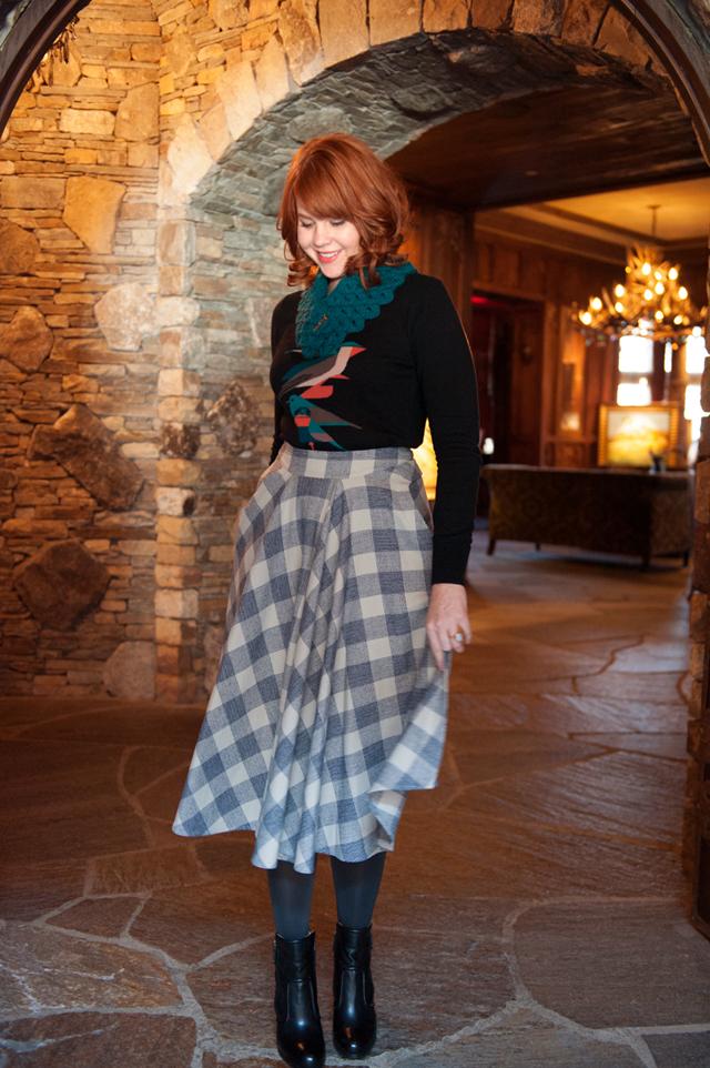 Pendleton Portland Plaid Skirt