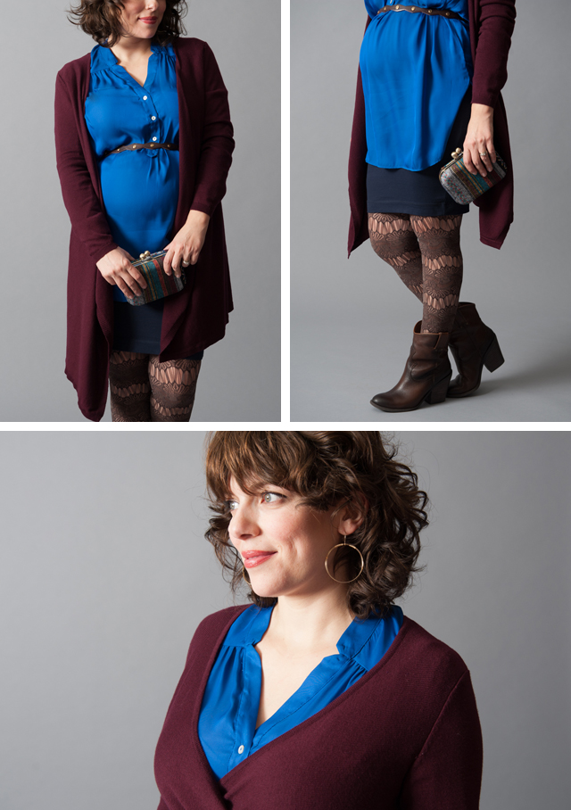 Torie Tunic in Royal Blue
