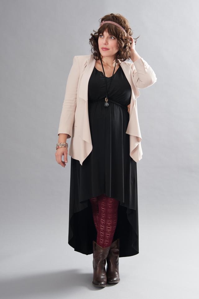 Black Hi-Low Dress