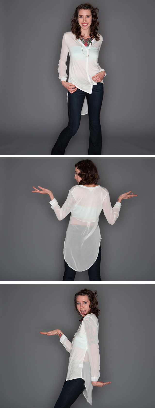 ringleader sheer tunic