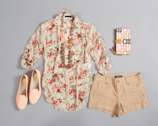 cute spring outfit idea
