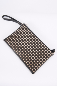 Tina Studded Clutch
