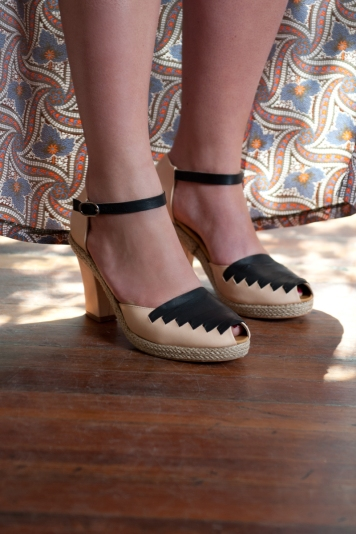 Coclico Ankle Strap Heels