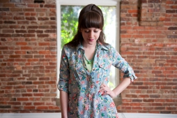 Day in the Park Floral Tunic