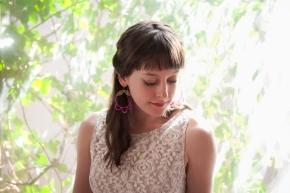 Beaded Lace Earrings by Seven Swans