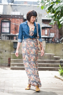 Floral Print Maxi by Tulle