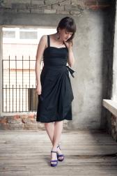 Trixie Sarong Dress by Trashy Diva