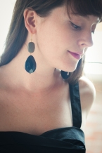 Earrings by David Aubrey