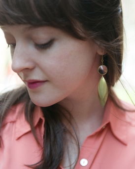 Earrings by Seven Swans