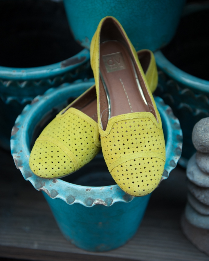 Gulliver Acid Yellow Loafers by DV