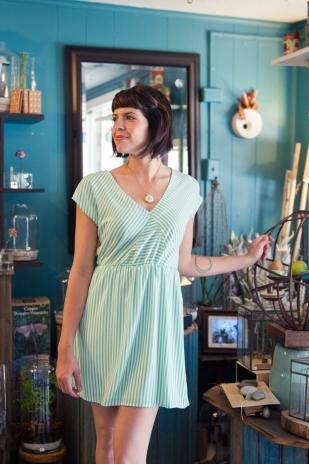 Summer Dream Dress in Mint