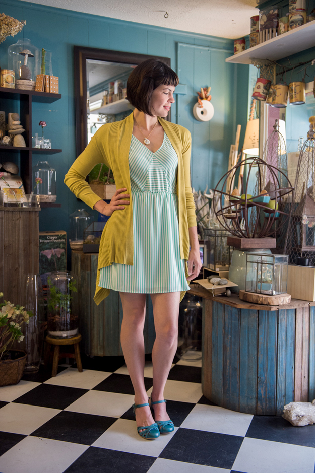 Summer Dream Dress in Mint