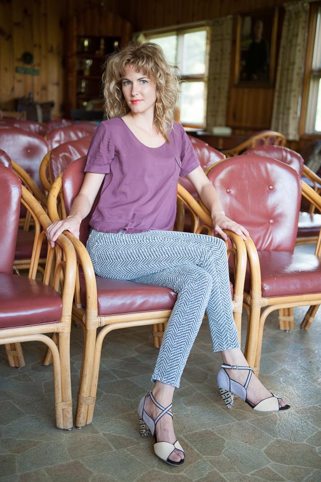 Paige Printed Skinny Jeans