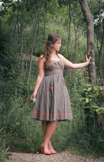Aryeh Halter Dress