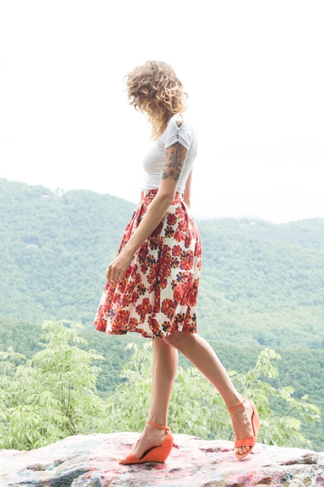 Greta Classic Circle Skirt