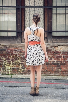 Pony Print Dress by Ark n Co
