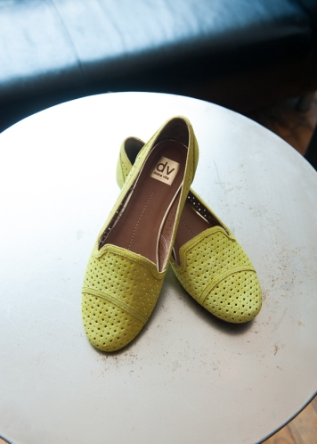 DV Gulliver Acid Yellow Loafers