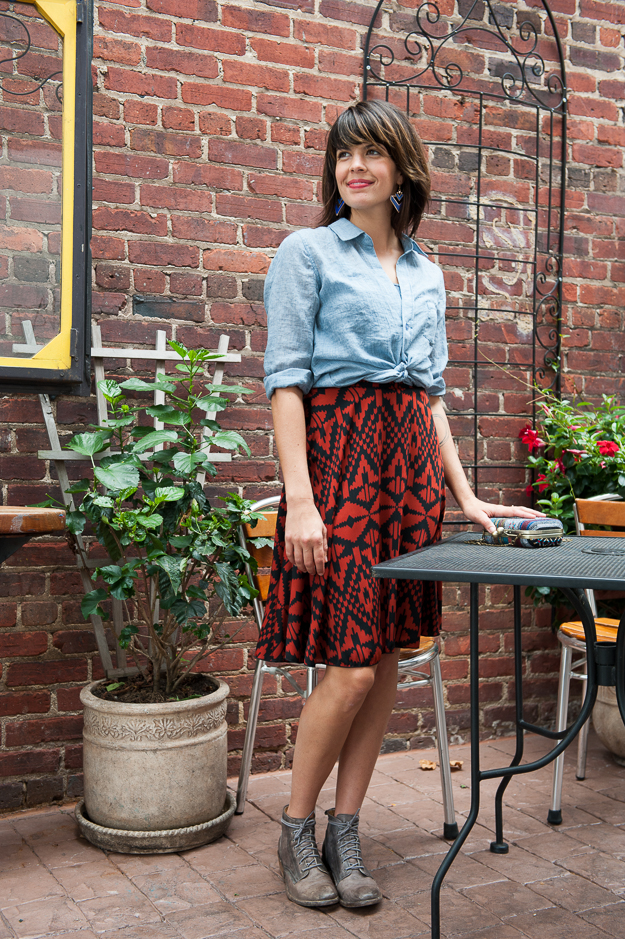 Hint of Fall Skirt