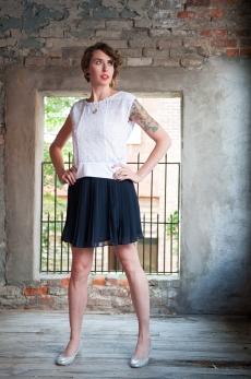 Penelope Pleated Skirt