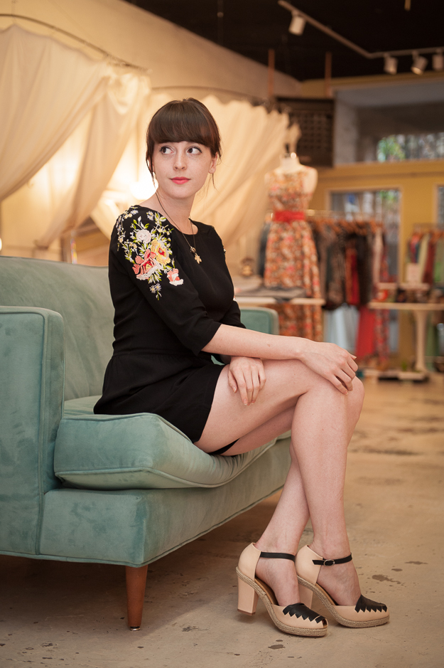 Embroidered Romper by Ark & Co.