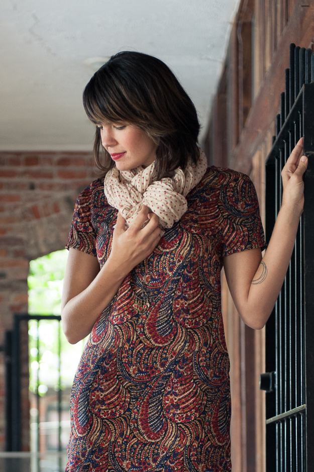 Scarf in Oatmeal