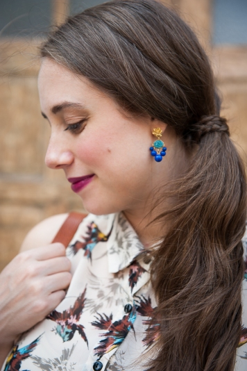 Elle Floral Earrings