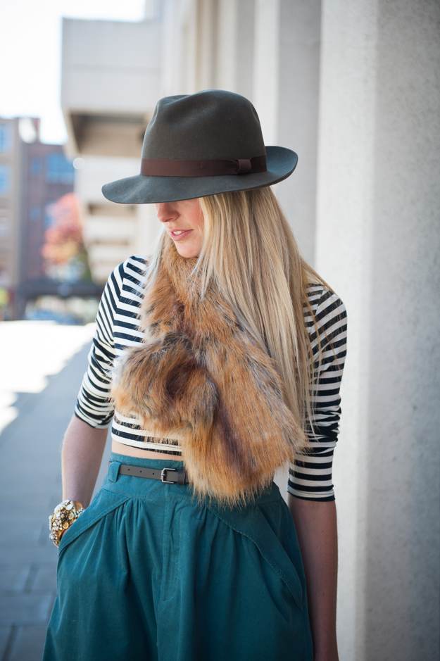Fabulous Furs Pull Through Scarf
