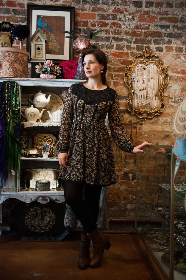 Ark and Co's Salem Lace Dress