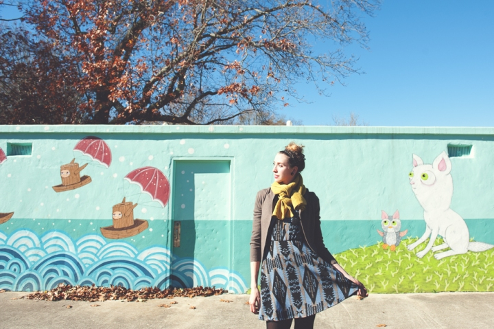 Alamo Tapestry Dress