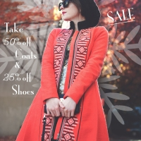 In-Store Coats and Shoes Sale!