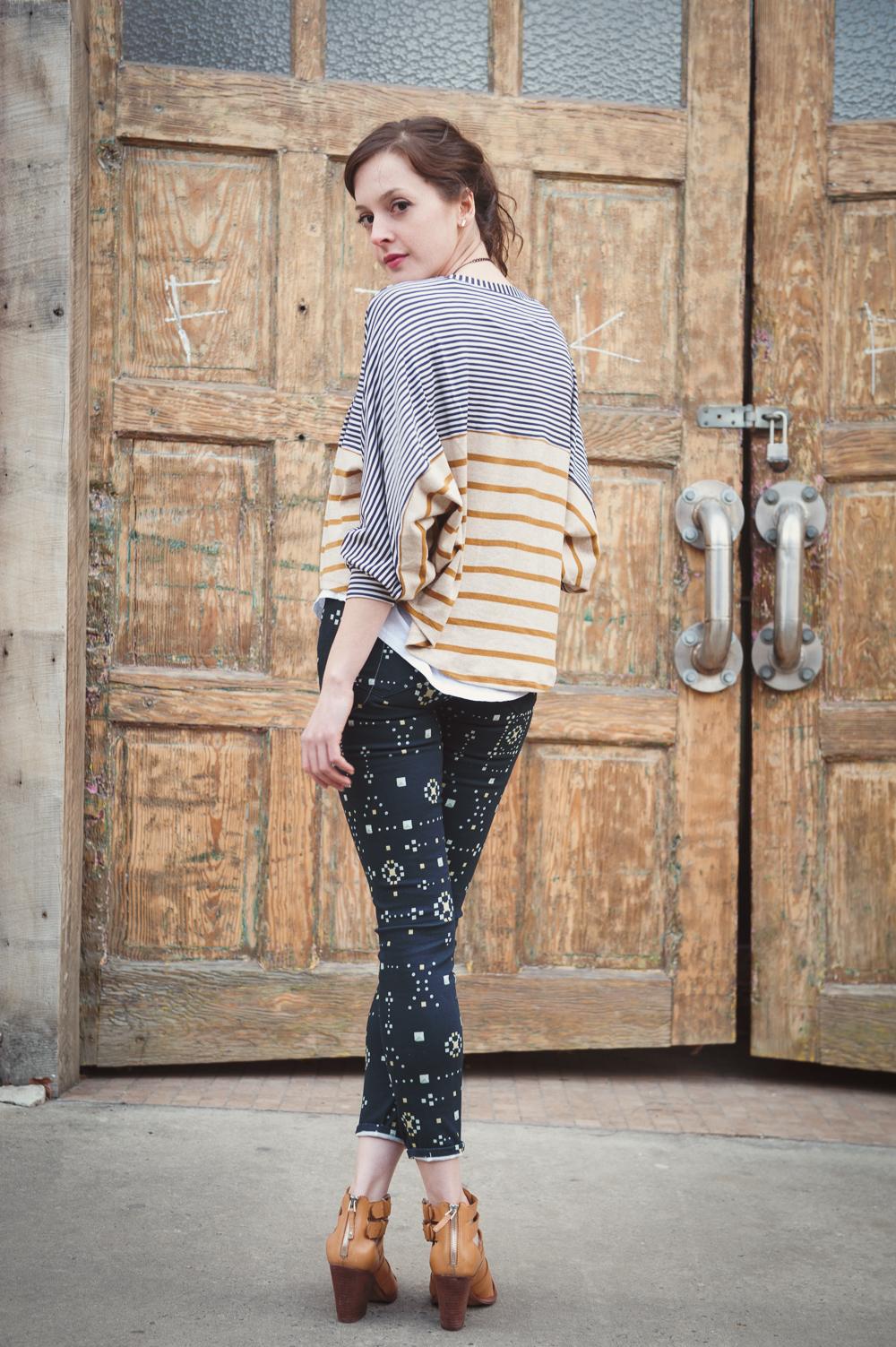 Paige Verdugo Printed Jeans