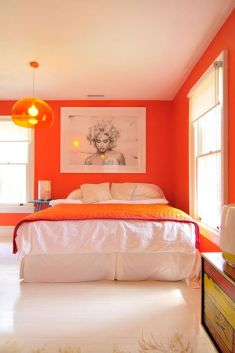 2. Orange in Decor