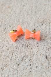 Take a Bow Stud Earrings