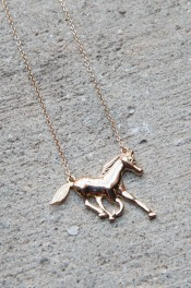 Hold Your Horses Necklace