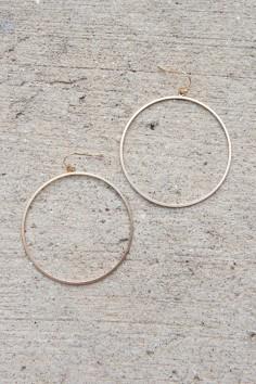 Hoop and Holler Earrings in Matte