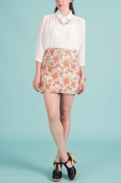 Teeny Floral Skirt